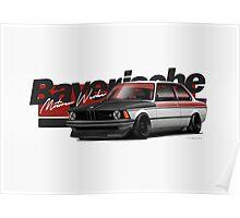 E21 BMW Poster