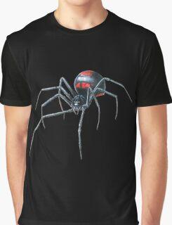 Black Widow Spider Cool Graphic T-Shirt