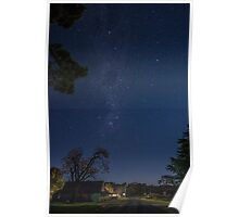 Starry Starry Hill End Poster