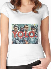 YOLO Ghostbusters Women's Fitted Scoop T-Shirt