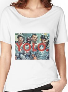 YOLO Ghostbusters Women's Relaxed Fit T-Shirt