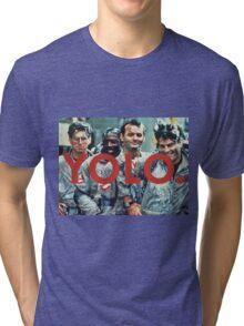 YOLO Ghostbusters Tri-blend T-Shirt