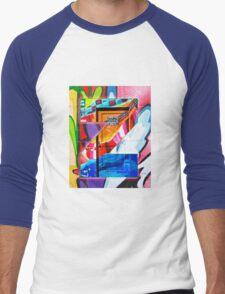 Urban Alphabet Z Men's Baseball ¾ T-Shirt