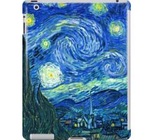 Starry Night at St. Remy, Van Gogh  iPad Case/Skin