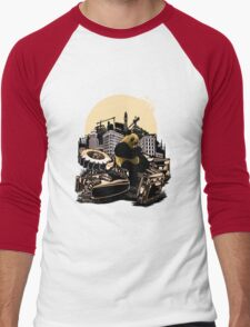 Angry Panda Men's Baseball ¾ T-Shirt