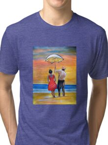 Romance on the Beach Tri-blend T-Shirt