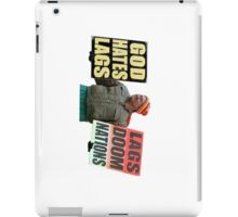 God Hates Lag iPad Case/Skin