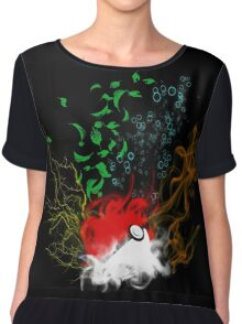 Elemental pokèball Chiffon Top