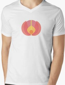 Budding Bloom Mens V-Neck T-Shirt