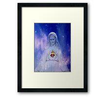 faith for mary Framed Print
