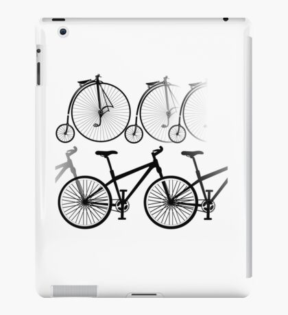 Cycles past and present iPad Case/Skin