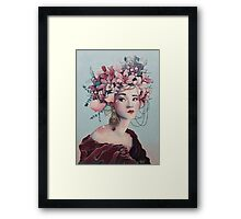 Korean Beauty Framed Print