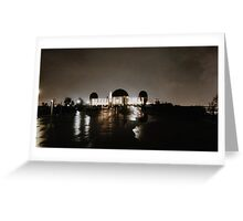 griffith ob at night Greeting Card