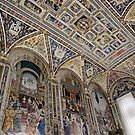 Siena Duomo Manuscript Room by Harry Oldmeadow