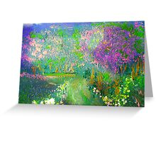 Meadow Trails Greeting Card