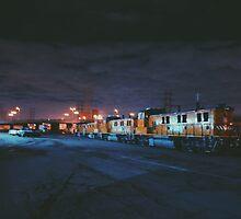 Train hoppin by Santamariaa