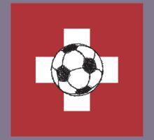 Switzerland Flag | Soccer Ball Kids Clothes