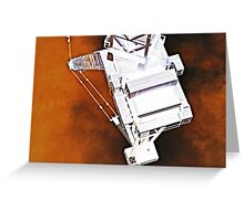 science fiction machine 1 Greeting Card