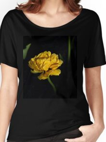 yellow tulip Women's Relaxed Fit T-Shirt