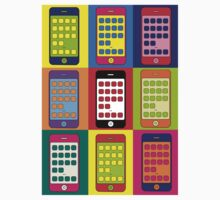 iPhones (Andy Warhol)  Kids Clothes