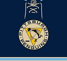Pittsburgh Penguins 2011 Winter Classic Jersey by Russ Jericho