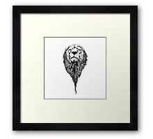King Leo Framed Print