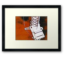 science fiction machine 2 Framed Print