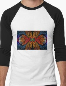 psychedelic glass Men's Baseball ¾ T-Shirt
