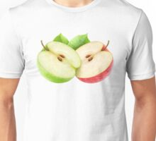 Two apple halves Unisex T-Shirt