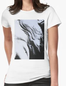 The Waves Womens Fitted T-Shirt