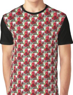 Red Roses In June Graphic T-Shirt