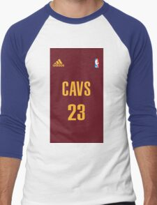 Cavs 23- Lebron James Men's Baseball ¾ T-Shirt