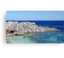 Beach Cave Canvas Print