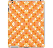 orange fabric  iPad Case/Skin