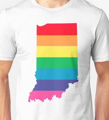 rainbow indiana Unisex T-Shirt
