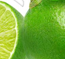 Cut lime Sticker