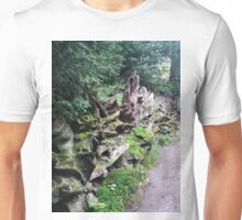Old Trees And Moss By Footway Unisex T-Shirt