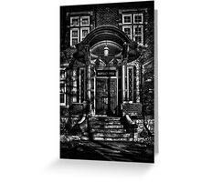 Annesley Hall Toronto Canada Greeting Card