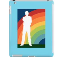 big gay rainbow iPad Case/Skin