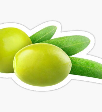 Green olives Sticker