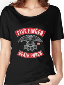 FFDP Five Finger Death Punch Women's Relaxed Fit T-Shirt