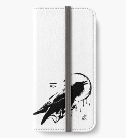 Raven iPhone Wallet/Case/Skin
