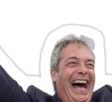 Brexit Nigel Celebration  Sticker