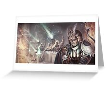 Dragon Cannon Commander Greeting Card