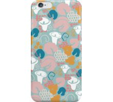 Lilies and dots iPhone Case/Skin