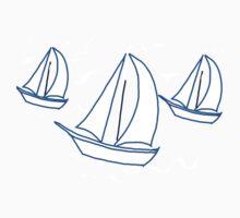 Racing Yachts One Piece - Short Sleeve