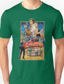 Funny Chuck TV Poster Unisex T-Shirt