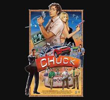 Funny Chuck TV Poster Unisex T-Shirt