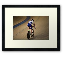 racing Bicycle Framed Print