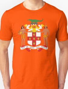 Jamaica Coat Of Arms Unisex T-Shirt